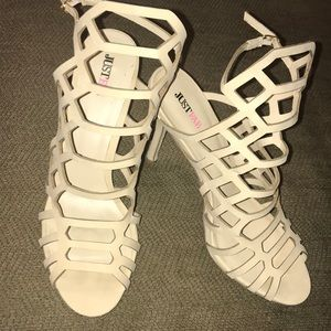New Beige Heels size 10